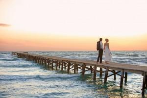 mariage ponton