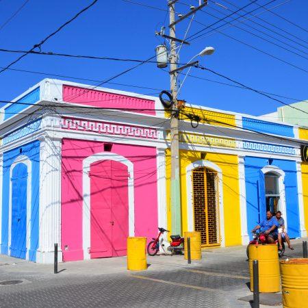 republique dominicainre maison de couleur puerto Plata